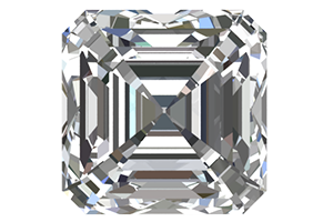 Loose Asscher Cut Diamonds