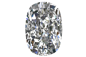 Cushion Cut Moissanites