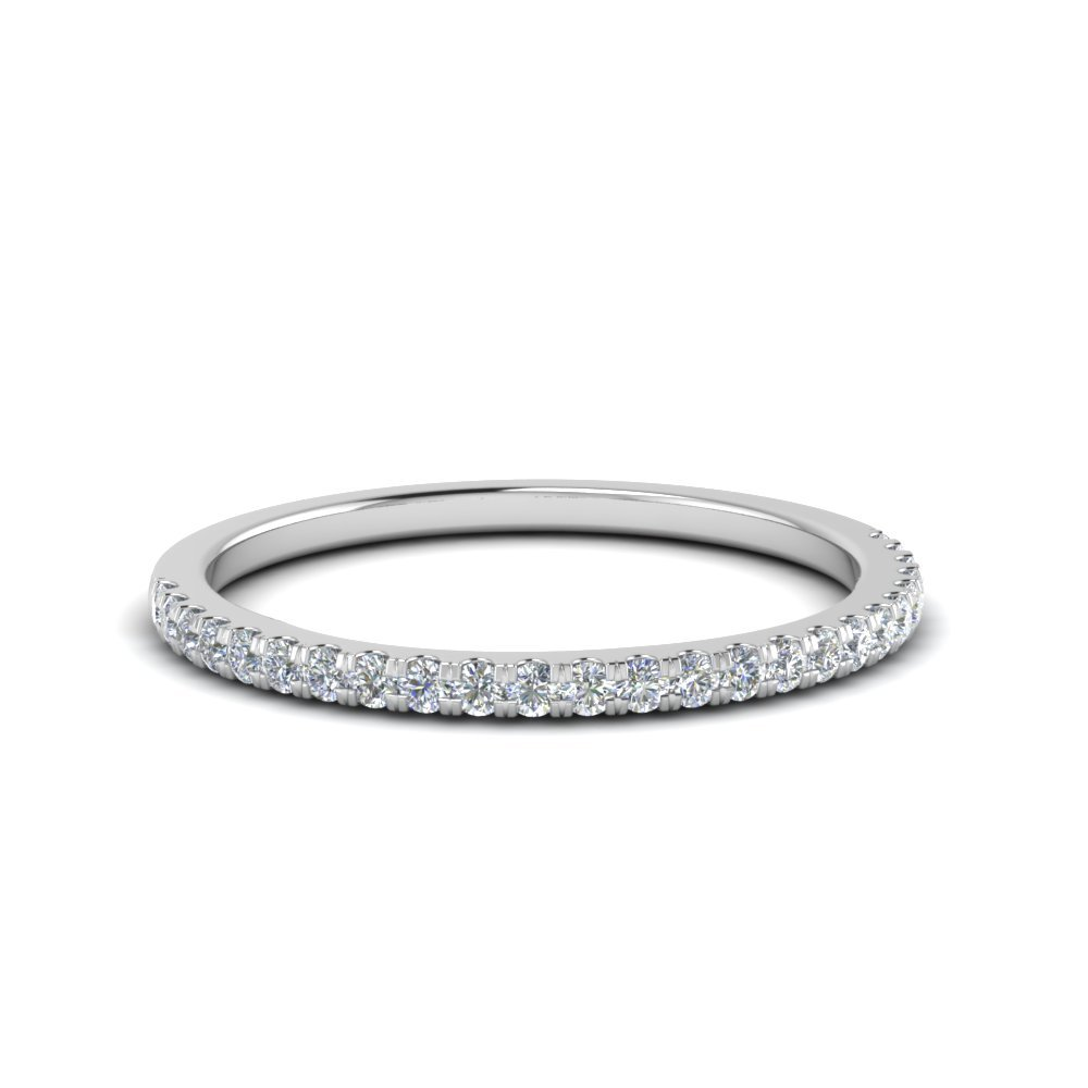0.25 Carat Round Wedding Ring