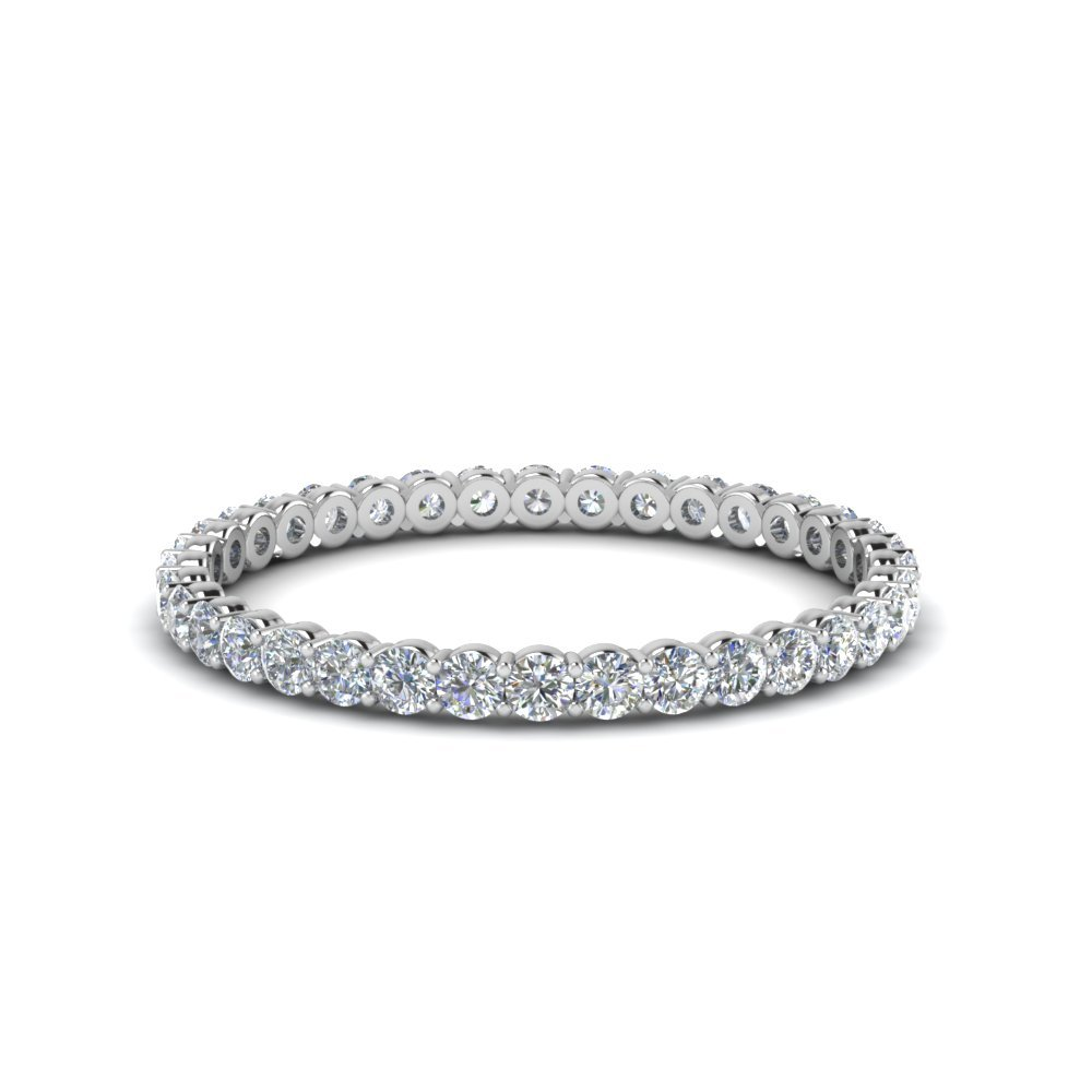 0.50 Ct. Round Diamond mom Eternity Ring