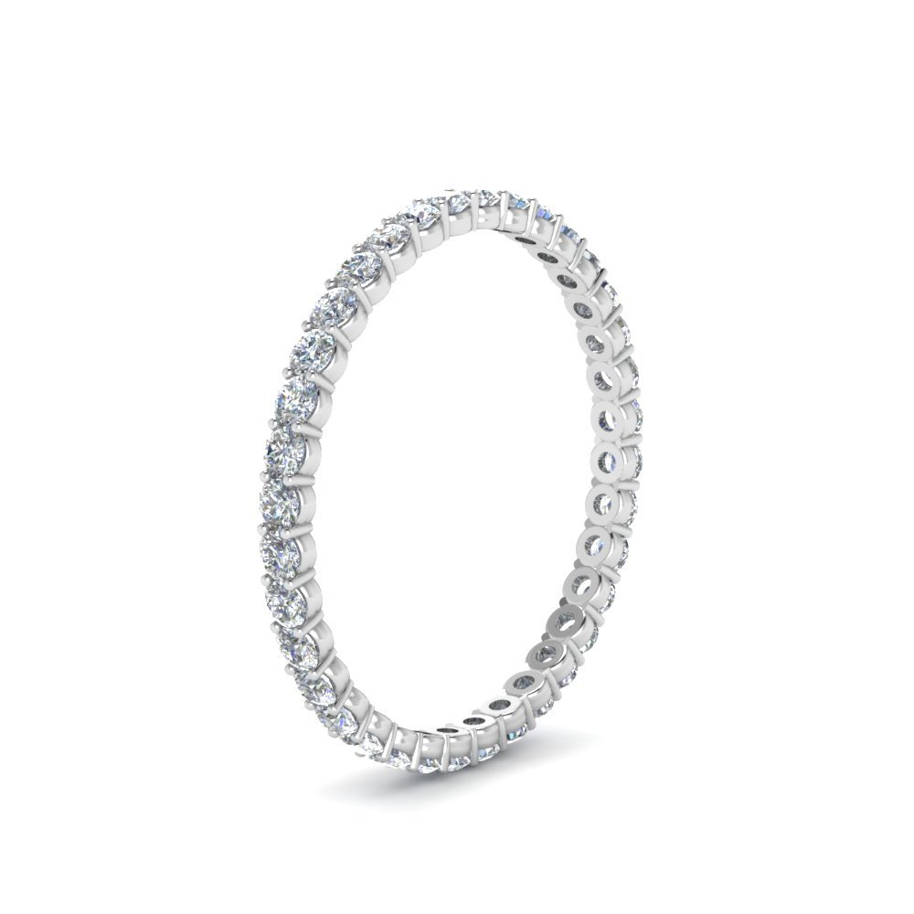 0.50 Ct. Round Diamond Shared Prong Eternity Ring