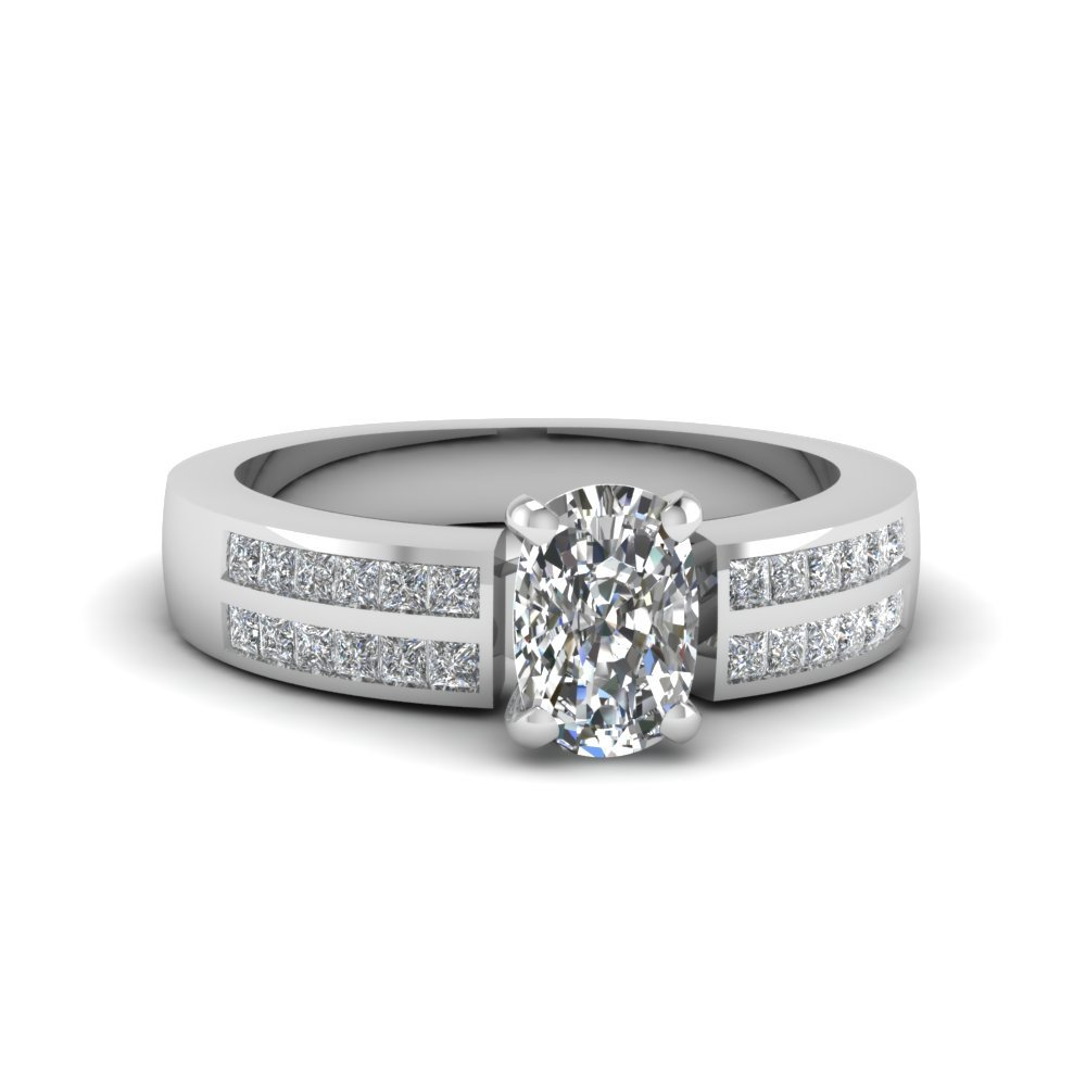 3/4 Carat Diamond 2 Row Ring