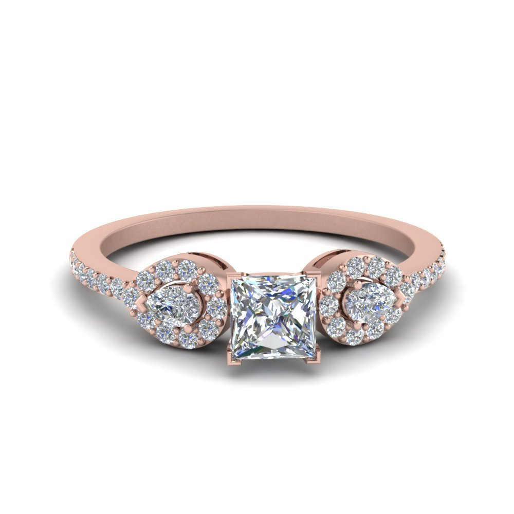 3/4 Ct. Diamond Petite 3 Stone Ring