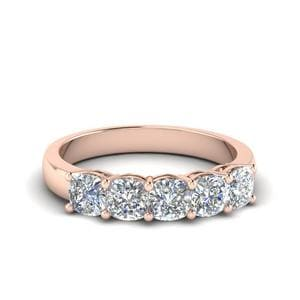 1 Carat Diamond Cushion Band