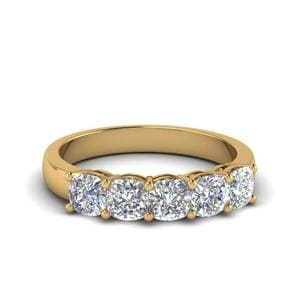 1 Carat Diamond 5 Stone Band