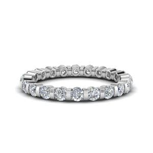 Single Row Eternity Ring