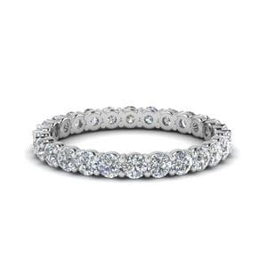 1 Ct. Round Eternity Anniversary Ring