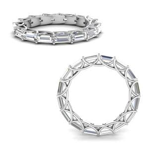 2.25 Ct. Diamond Trellis Eternity Ring