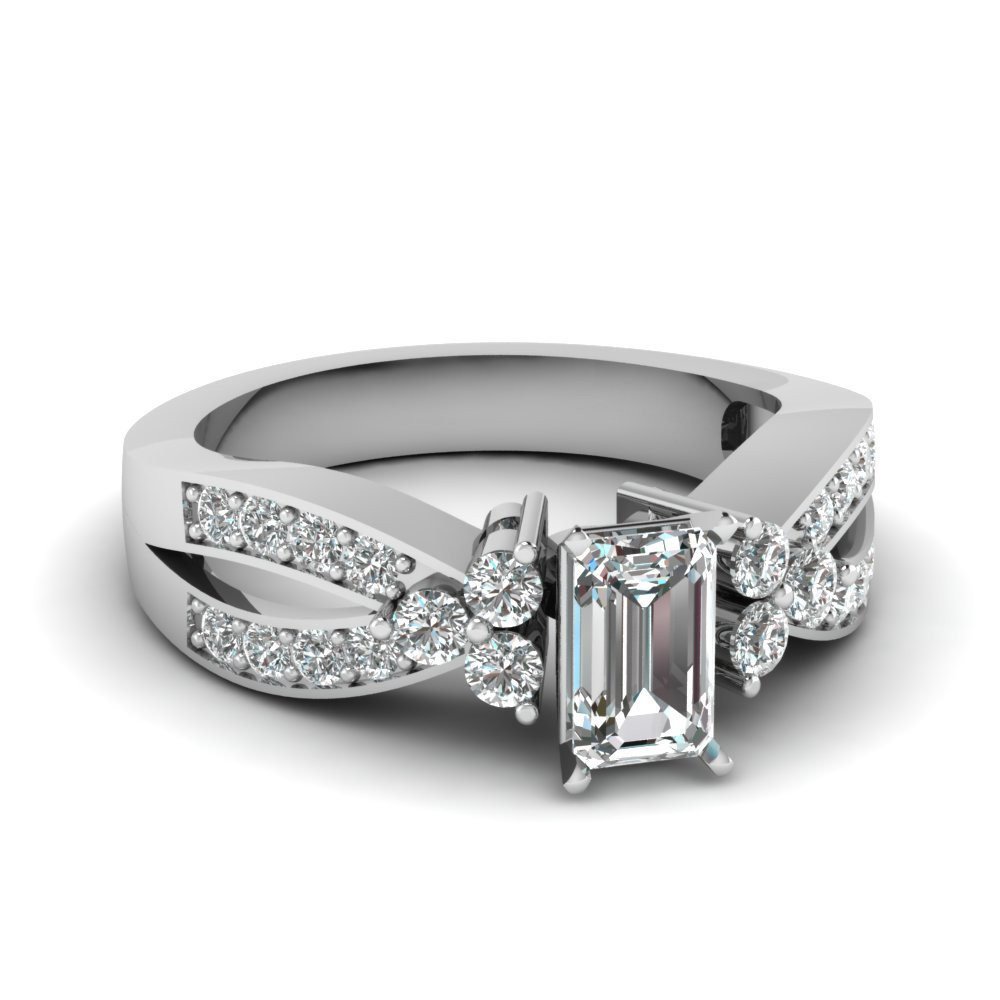 1 Ct. Diamond Cluster Accent Ring