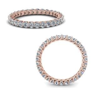 1 Ct. Diamond Trellis Eternity Ring