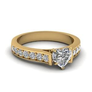 Matching Pave Accent Diamond Ring