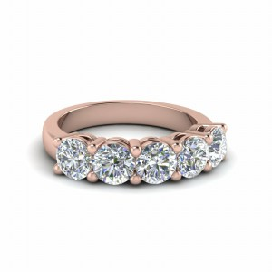 18K Rose Gold Wedding Ring