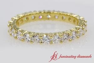 1.50 Ct. Round Diamond Eternity Band In 18k Gold