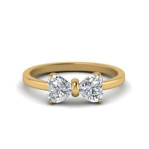 1.50 Ct. Diamond Heart Promise Ring