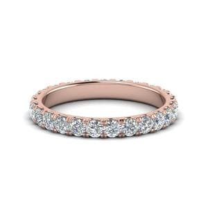 1.50 Carat Round Eternity Band<br> For Women