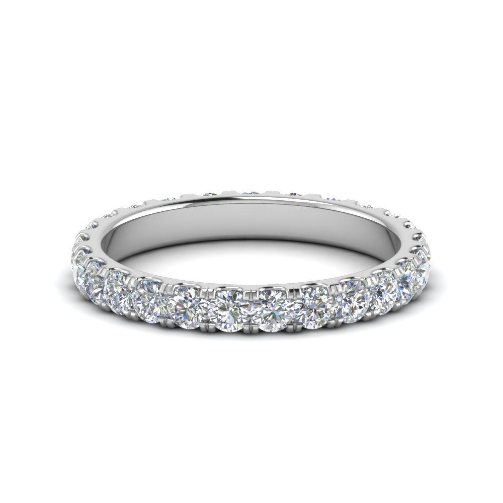 1.50 Carat Round Eternity Band For Women