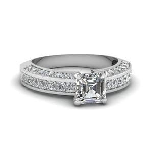 1.50 Ct. Diamond Pave Ring