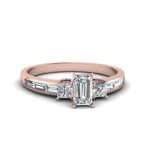 1.50 Ct. Baguette 3 Stone Ring