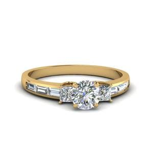 1.50 Ct. Diamond 3 Stone Ring