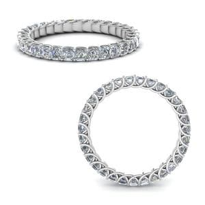 1.50 Ct. Diamond Trellis Eternity Ring