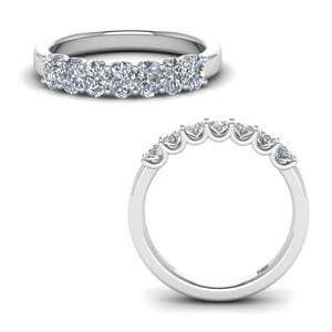 1.50 Ct. 7 Stone Wedding Ring