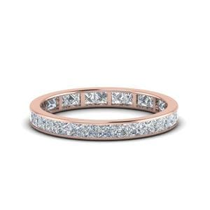 1.50 Ct. Princess Cut Eternity Band