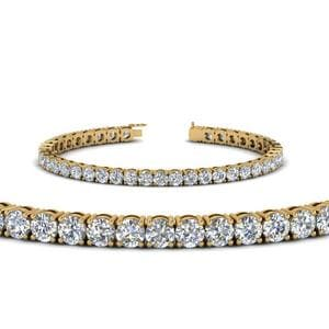 14K Yellow Gold 10 Ct. Diamond Bracelet