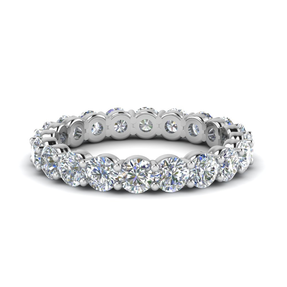 2 Ct. Round Eternity Band