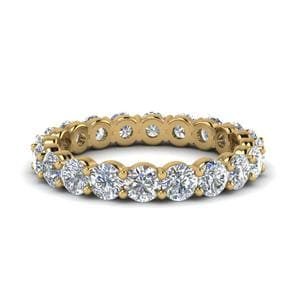 2 Carat Round Diamond Eternity Band