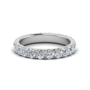 2 Carat Round Diamond Eternity<br> Women Band