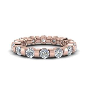Bar Diamond Eternity Band