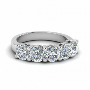 2.5 Karat Diamond Anniversary Band