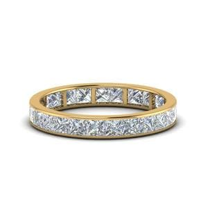 2.50 Carat Princess Channel Eternity Band