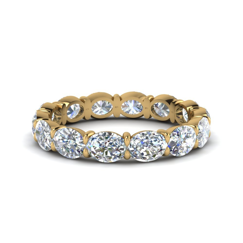 3 Ct. Oval Diamond Eternity Ring