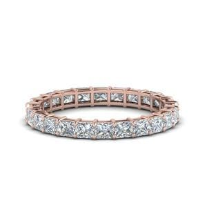 3 Ct. Princess Cut Diamond Eternity Ring