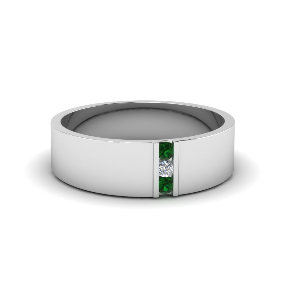 Emerald Band For Men