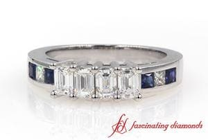 4 Stone Anniversary Diamond Band