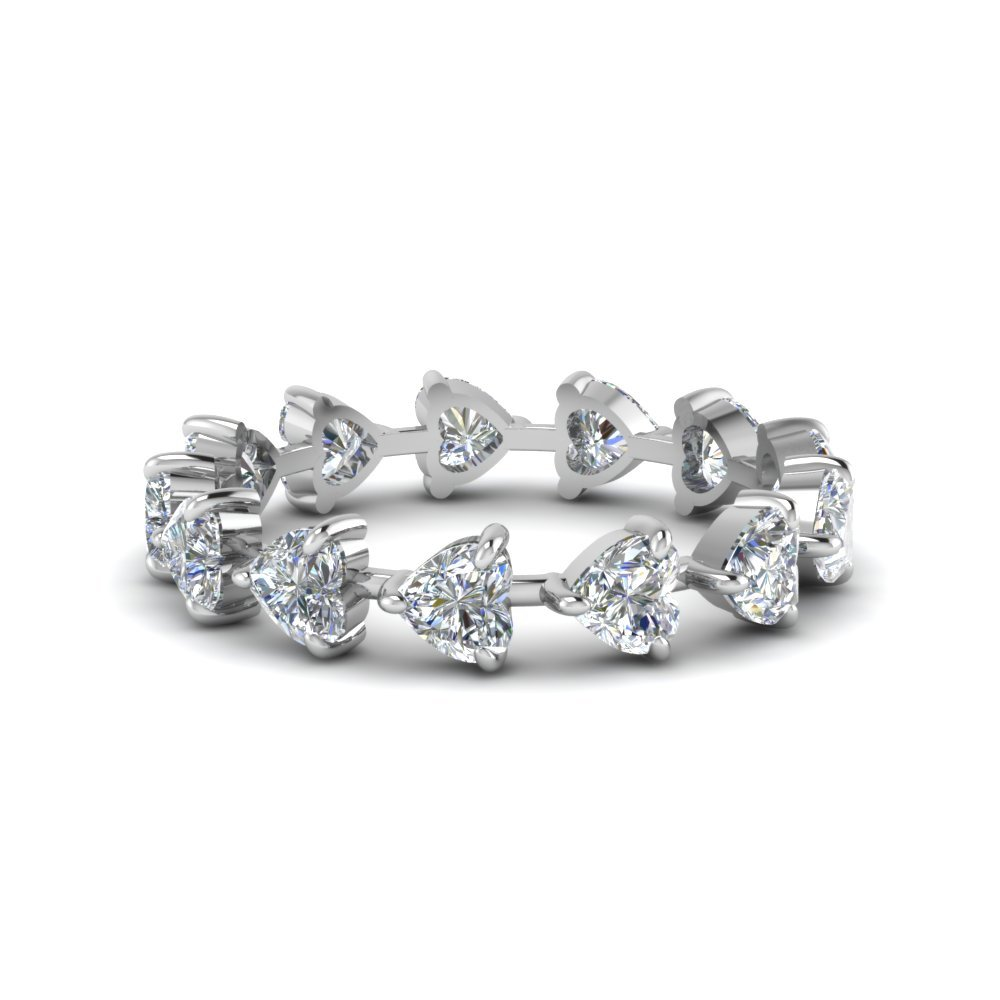 Heart Eternity Anniversary Band