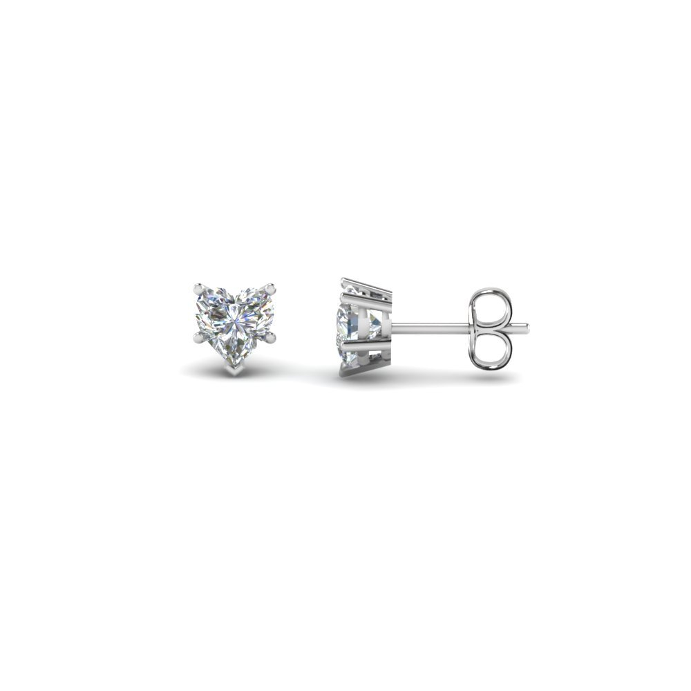 Heart Diamond Earring