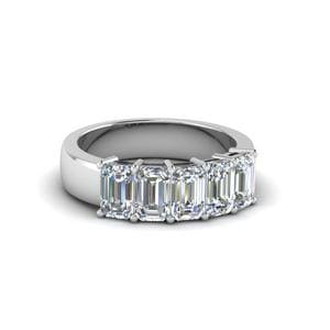5 Stone Diamond Band (1 Ct.)