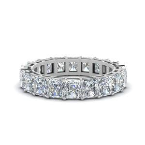 6 Ct. Radiant Diamond Eternity Band