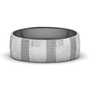 Texture Mens Platinum Band
