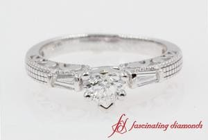 Antique 3 Stone Engagement Ring