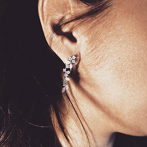 Extraordinary Diamond Earring