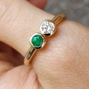 Beautiful Two Stone Rings