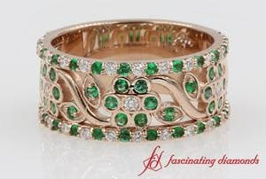 Emerald Thick Band