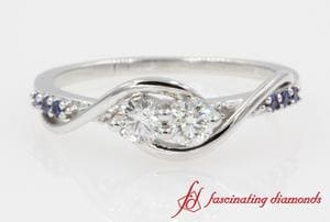 Alternative Accent Diamond Ring