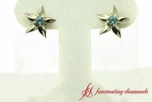 Flower Inspired Stud Earring