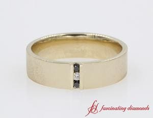 3 Stone Diamond Anniversary Band For Men