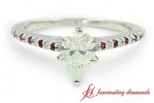 Petite Ruby Wedding Ring